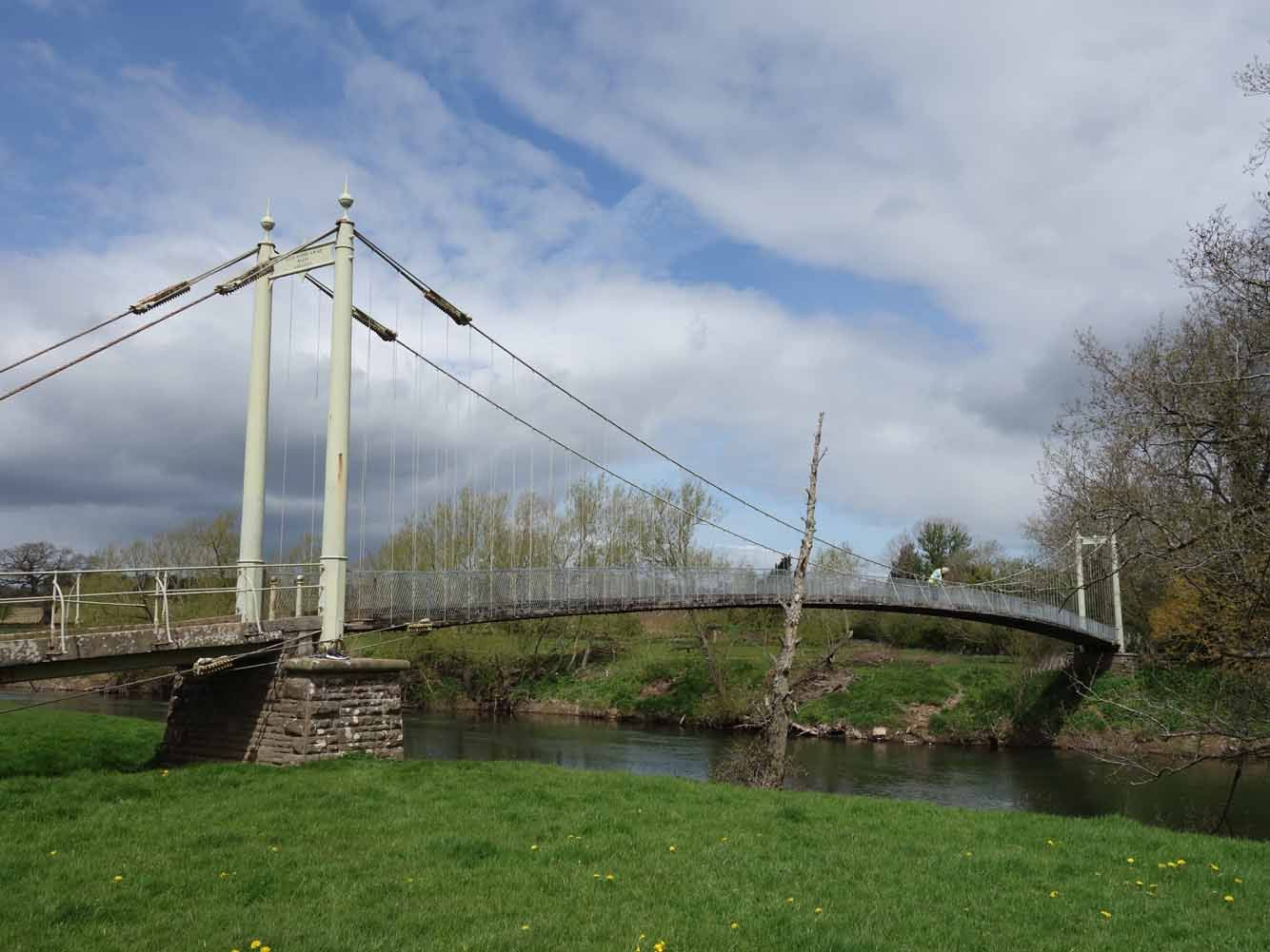 Sellack bridge over the river wye