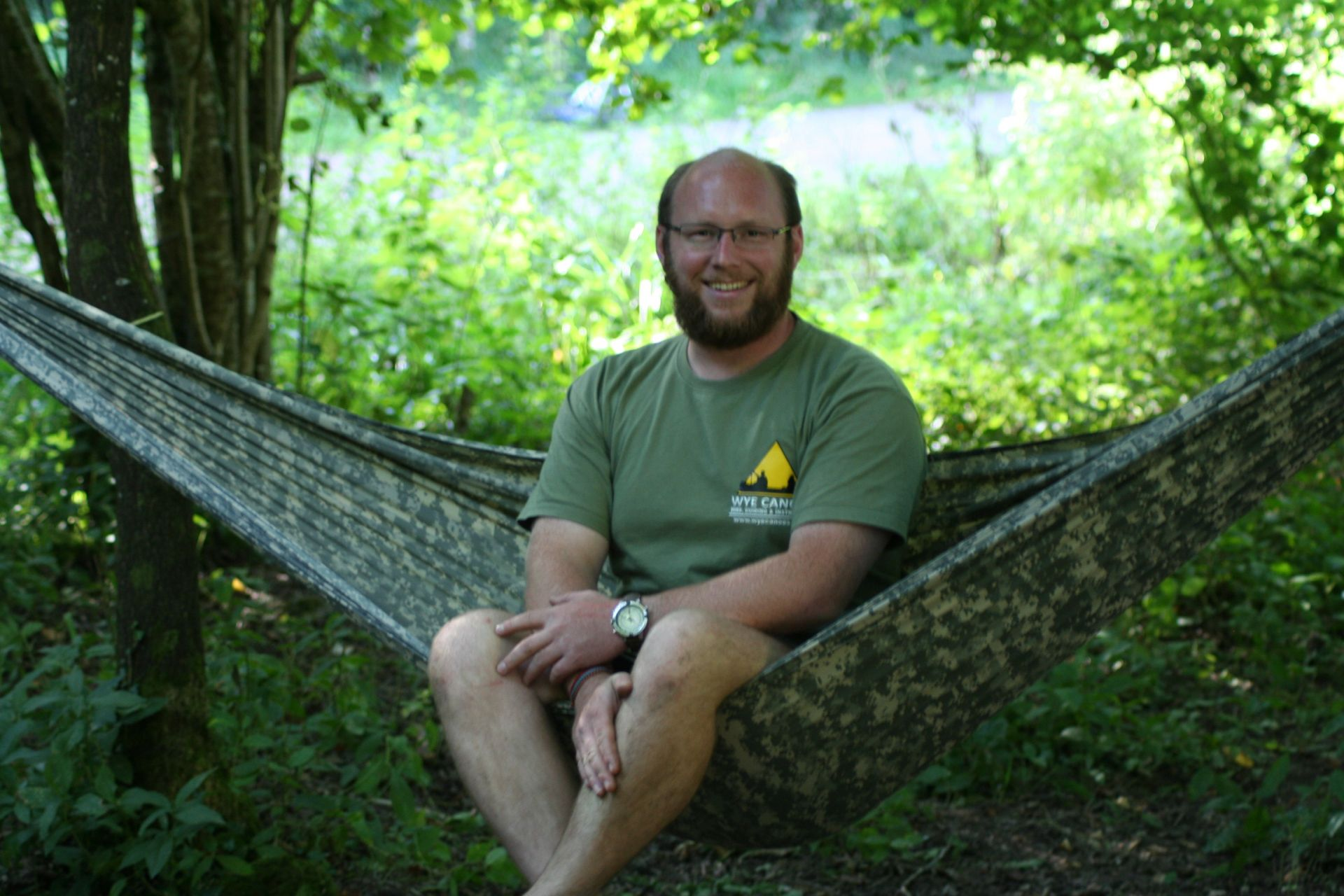 Wye Canoes activity instructor