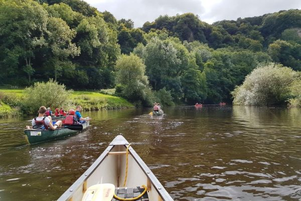 Kerne Bridge to Symonds Yat (1/2 Day)