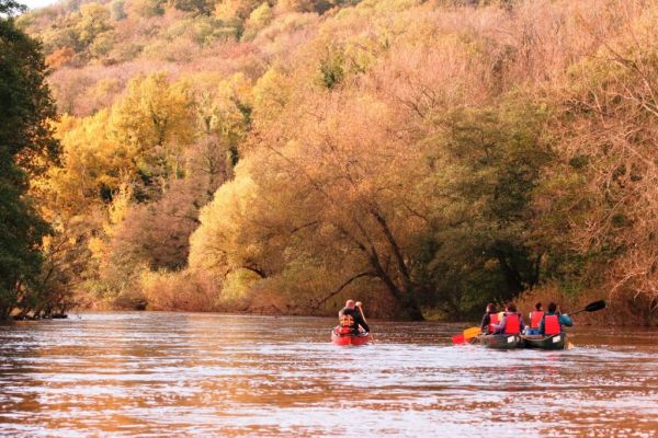 Autumn Guided Canoe Trip