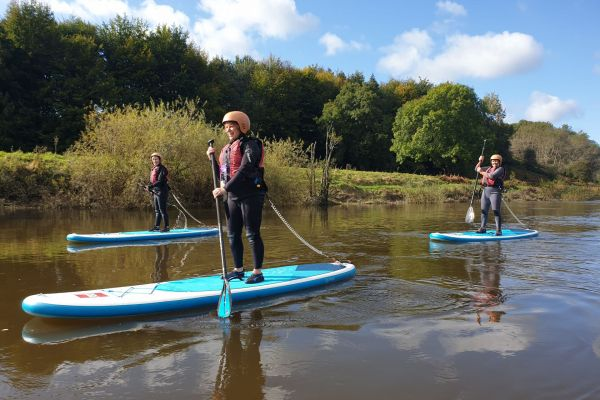 Guided SUP River Trip