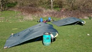 Traditional Canoe Bivvy