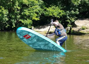 One of our SUP instructors Deano