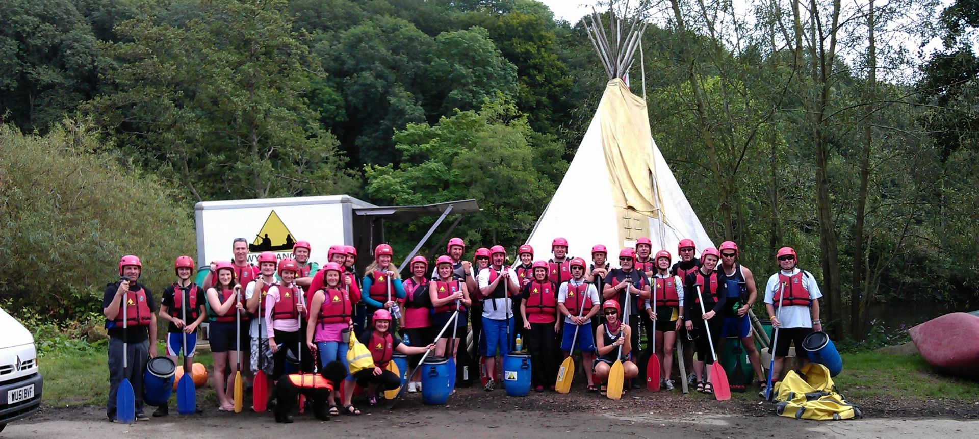 Worcester Dragon Boat Racing Team.