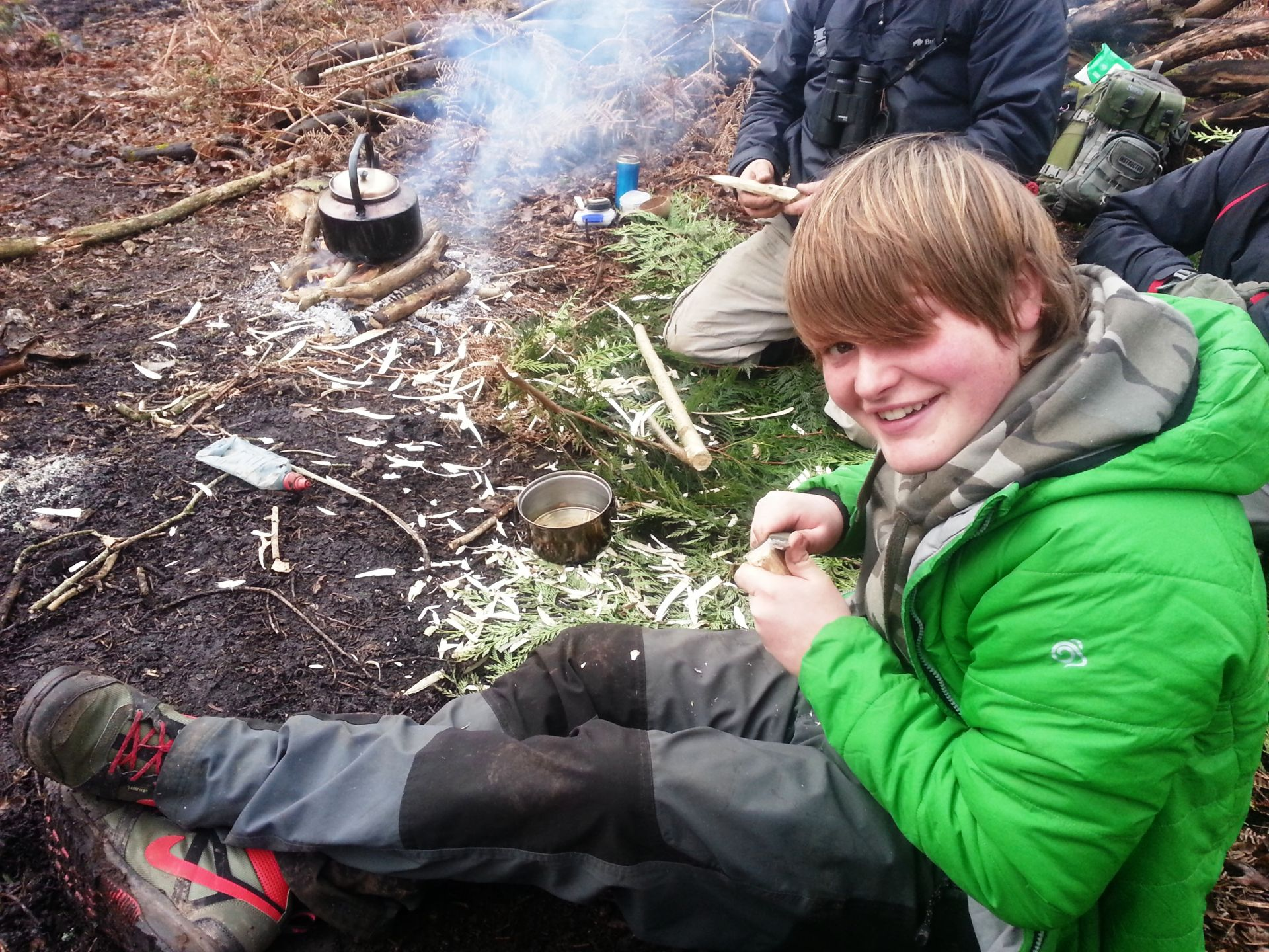 Wye Canoes Bushcraft Session