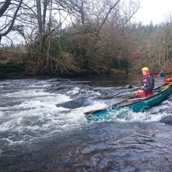 Intro to WW canoe rapid